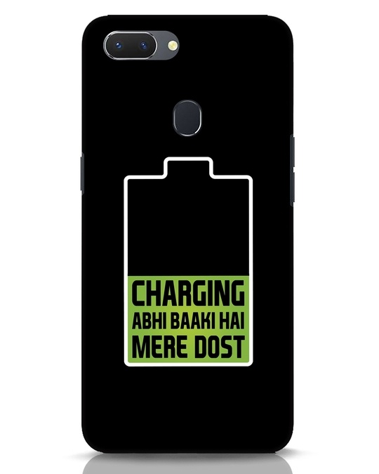 Shop Charging Abhi Baaki Hai Mere Dot Realme 2 Mobile Cover-Front