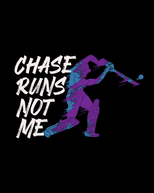 Shop Chase Runs Half Sleeve T-Shirt
