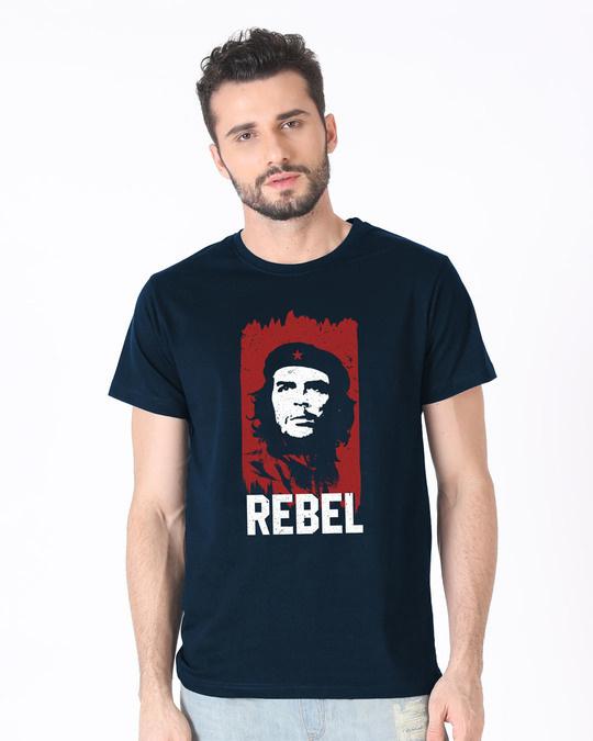 Shop Che Guevara Half Sleeve T-Shirt-Back