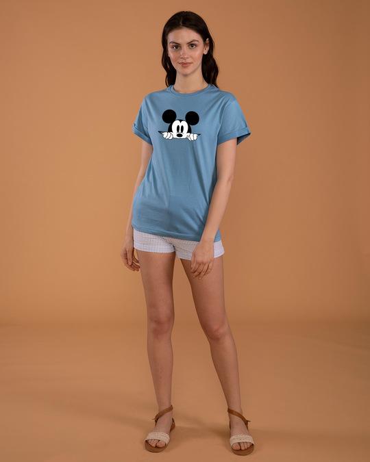 Shop Cheeky Mickey Boyfriend T-Shirt (DL)-Design