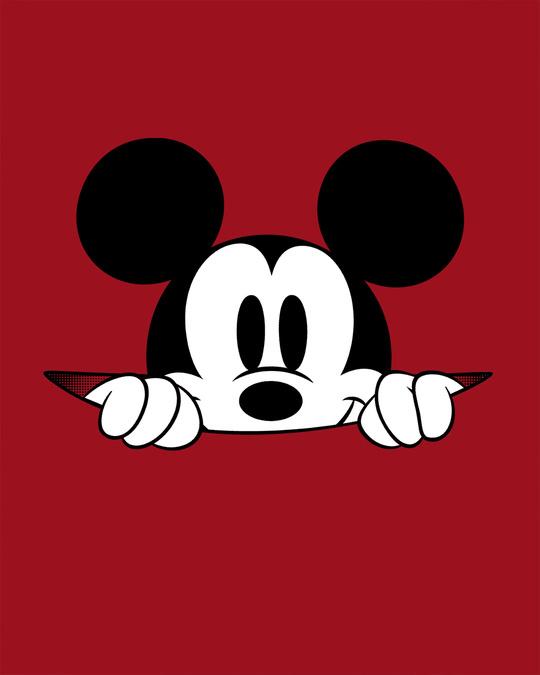 Shop Cheeky Mickey Half Sleeve T-Shirt (DL)