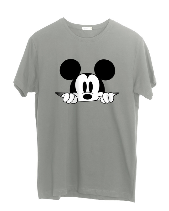 Shop Cheeky Mickey Half Sleeve T-Shirt (DL)-Front