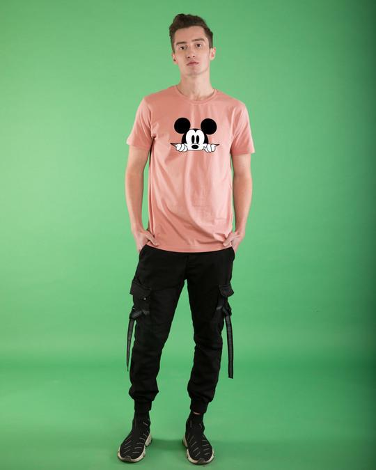 Shop Cheeky Mickey Half Sleeve T-Shirt (DL)-Full
