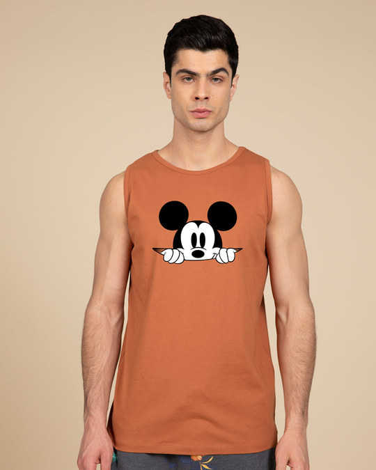Shop Cheeky Mickey Vest (DL)-Front