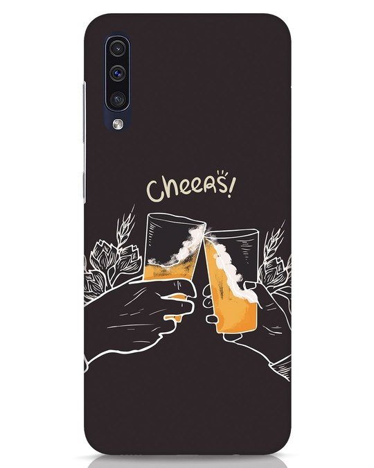 Shop Cheers Samsung Galaxy A50 Mobile Cover-Front