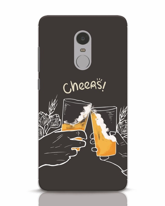 Shop Cheers Xiaomi Redmi Note 4 Mobile Cover-Front