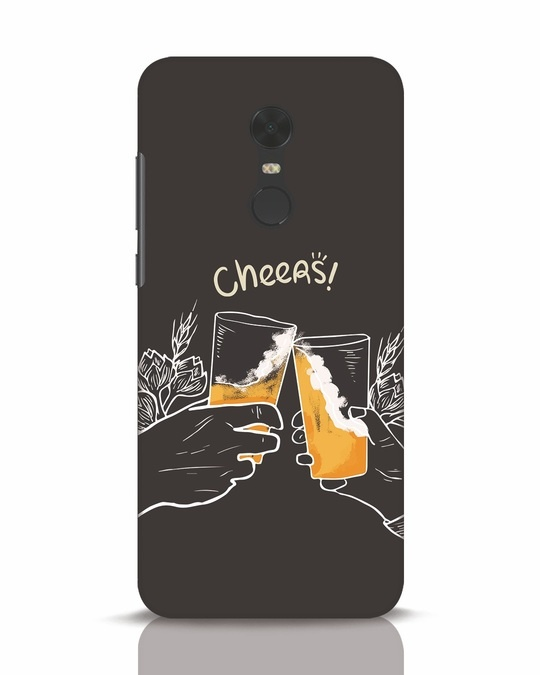 Shop Cheers Xiaomi Redmi Note 5 Mobile Cover-Front