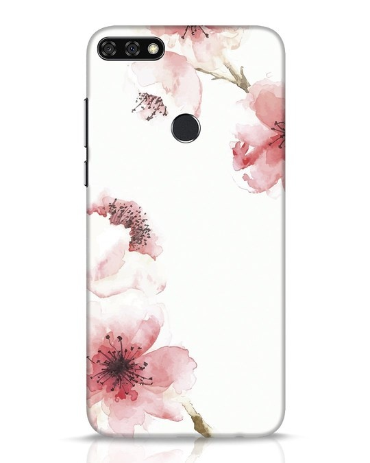 Shop Cherry Blossoms Huawei Honor 7C Mobile Cover-Front