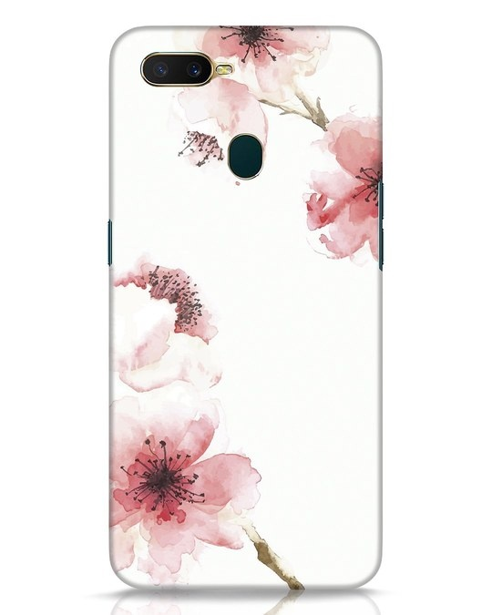 Shop Cherry Blossoms Oppo A7 Mobile Cover-Front