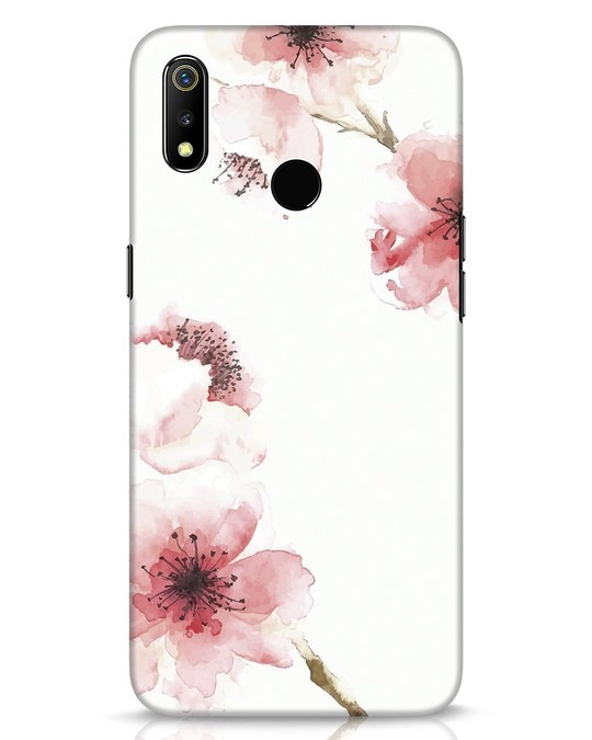 Shop Cherry Blossoms Realme 3 Mobile Cover-Front