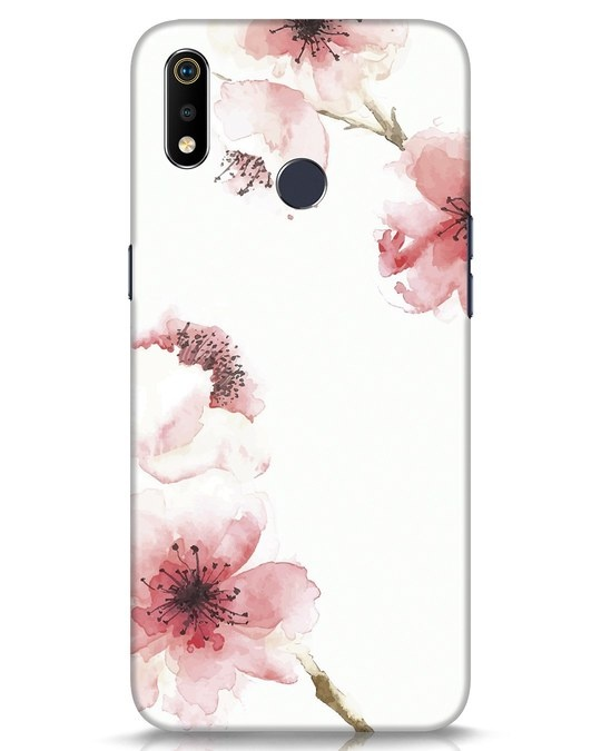 Shop Cherry Blossoms Realme 3i Mobile Cover-Front