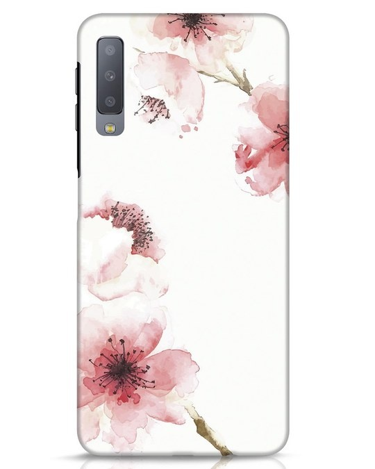 Shop Cherry Blossoms Samsung Galaxy A7 Mobile Cover-Front