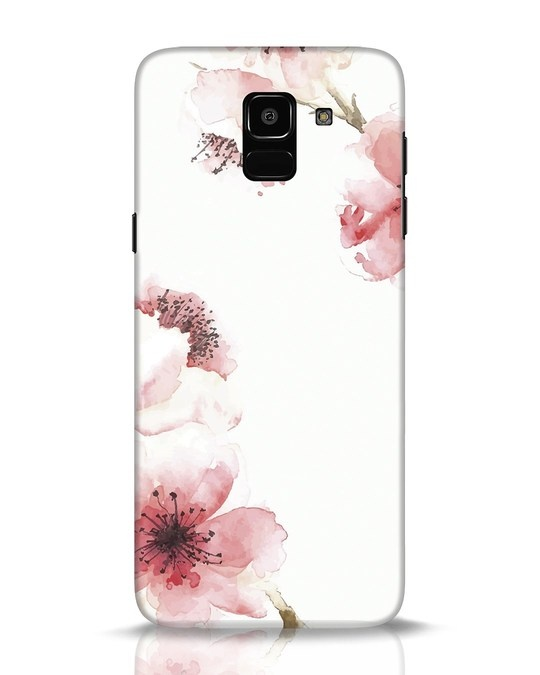 Shop Cherry Blossoms Samsung Galaxy J6 Mobile Cover-Front