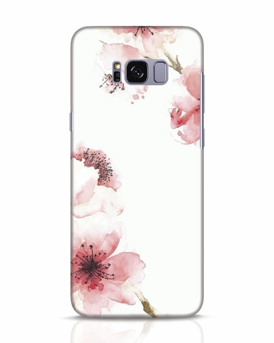 Shop Cherry Blossoms Samsung Galaxy S8 Mobile Cover-Front