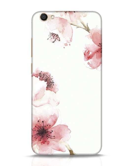 Shop Cherry Blossoms Vivo V5 Mobile Cover-Front