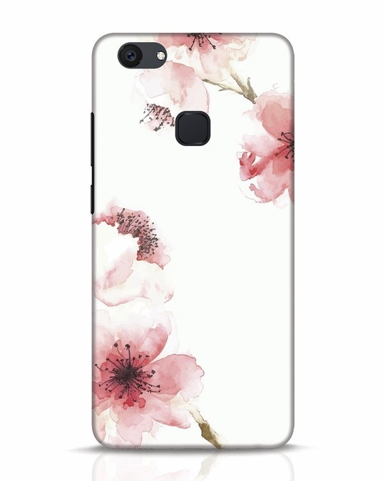 Shop Cherry Blossoms Vivo V7 Plus Mobile Cover-Front