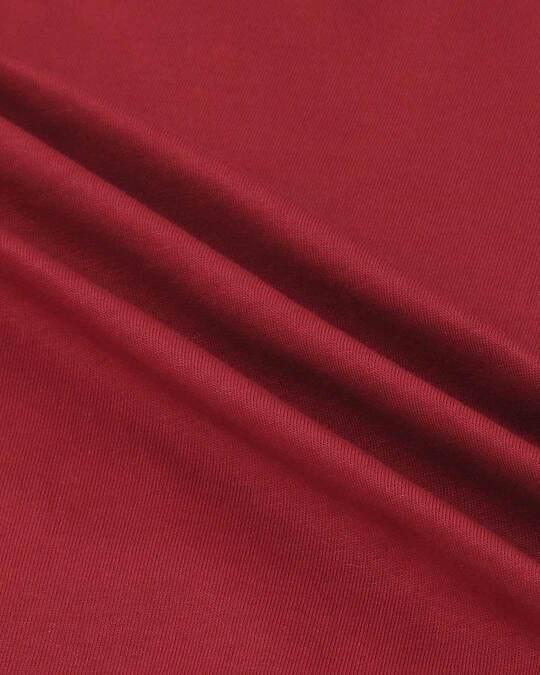 Shop Cherry Red Full Sleeeve Raglan T-Shirt