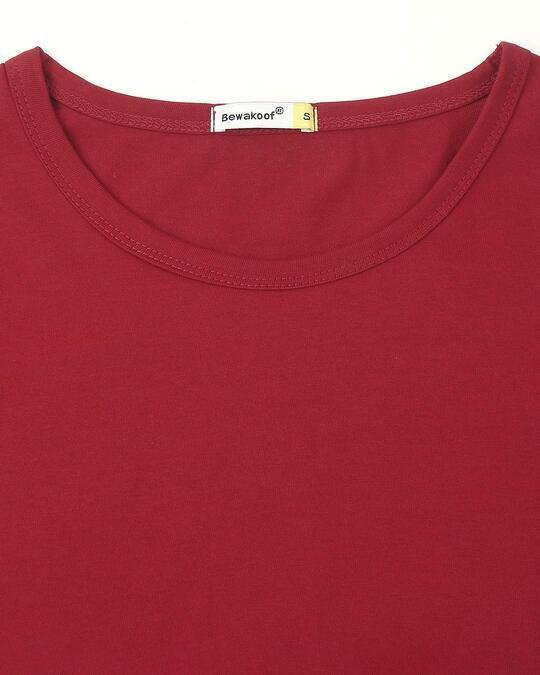 Shop Cherry Red Half Sleeve T-Shirt