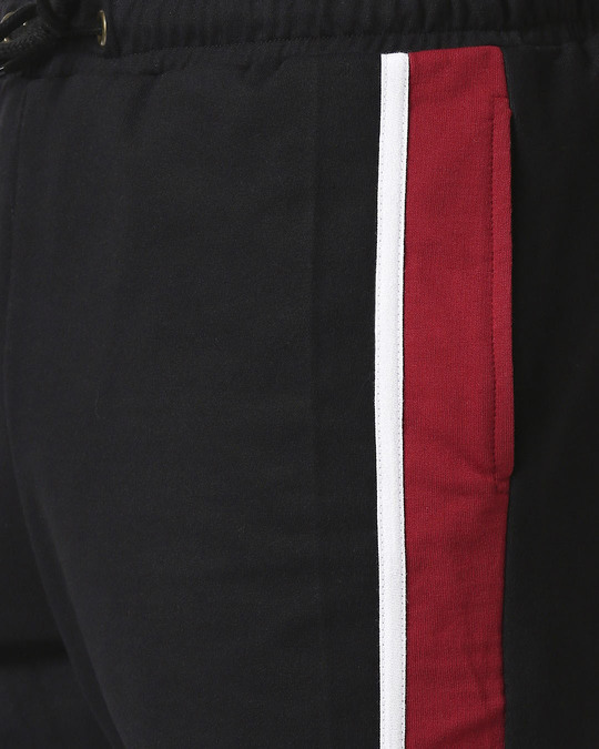 Shop Cherry Red Side Panel Shorts