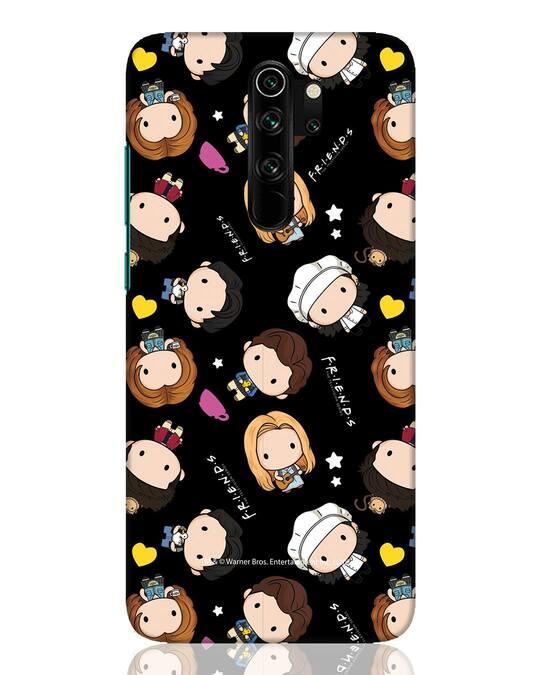 Shop Chibi Pattern Xiaomi Redmi Note 8 Pro Mobile Cover (FRL)-Front