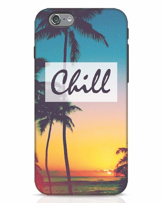 Shop Chill Beach iPhone 6 Mobile Cover-Front
