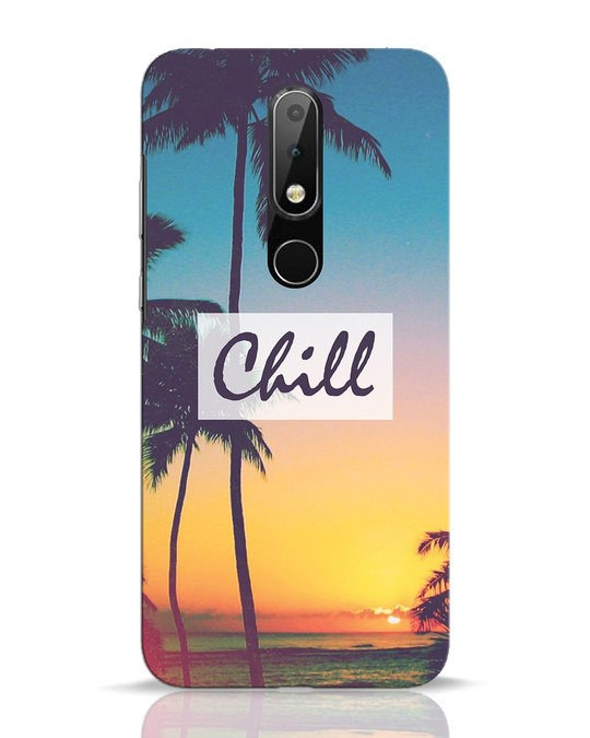 Shop Chill Beach Nokia 6.1 Plus Mobile Cover-Front