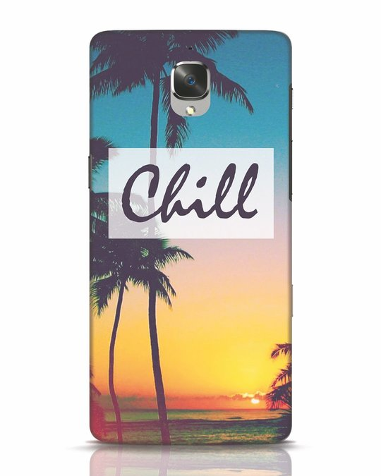 Shop Chill Beach OnePlus 3T Mobile Cover-Front