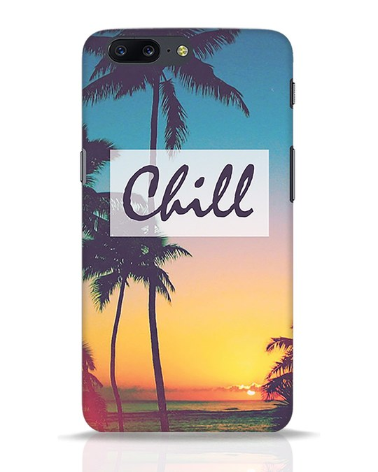 Shop Chill Beach OnePlus 5 Mobile Cover-Front