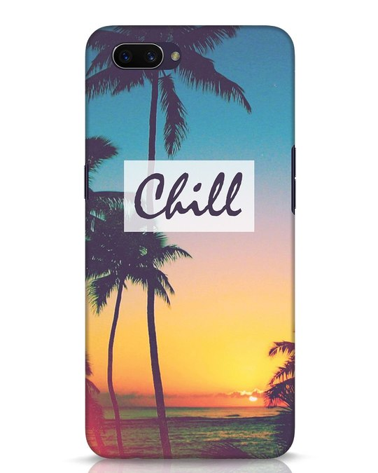 Shop Chill Beach Oppo A3S Mobile Cover-Front