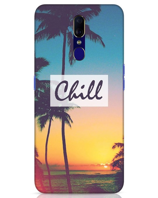 Shop Chill Beach Oppo F11 Mobile Cover-Front