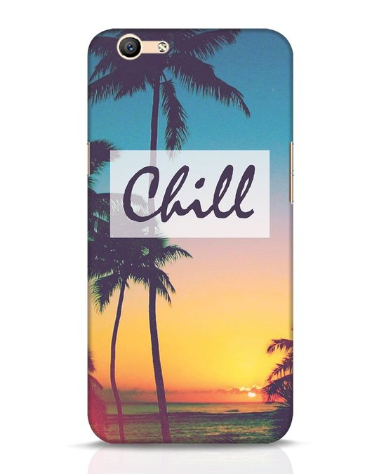 Shop Chill Beach Oppo F1s Mobile Cover-Front