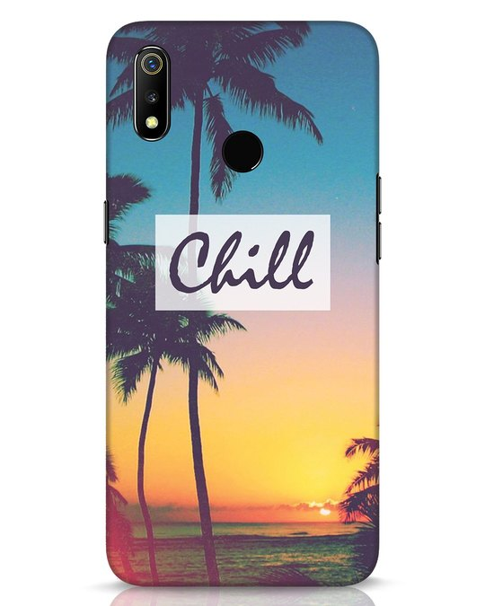 Shop Chill Beach Realme 3 Mobile Cover-Front
