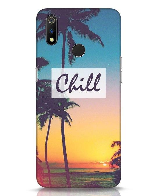 Shop Chill Beach Realme 3 Pro Mobile Cover-Front