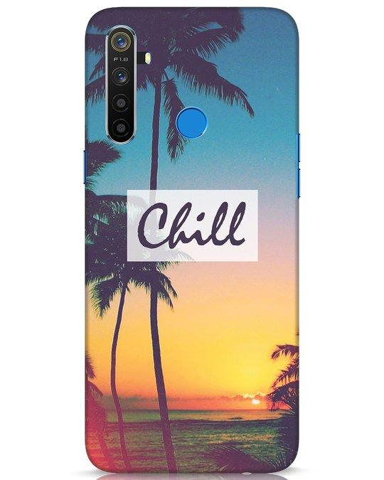 Shop Chill Beach Realme 5 Mobile Cover-Front
