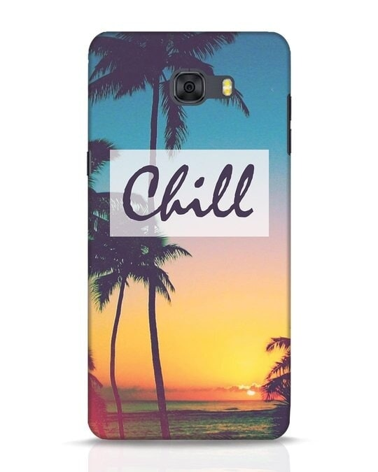 Shop Chill Beach Samsung Galaxy C9 Pro Mobile Cover-Front