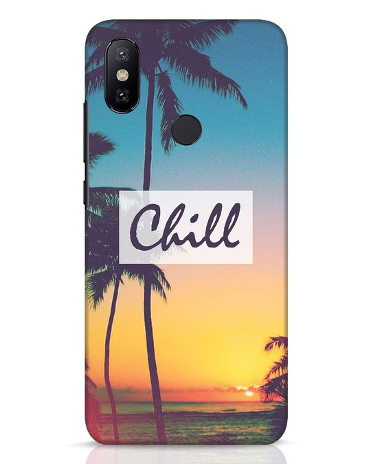 Shop Chill Beach Xiaomi Mi A2 Mobile Cover-Front