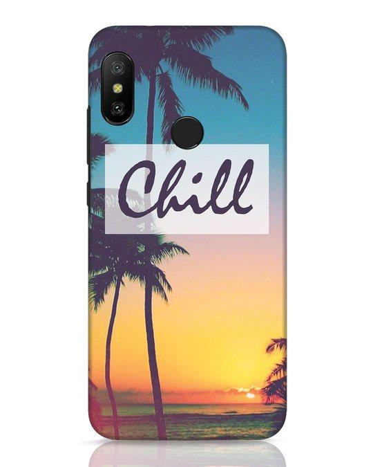 Shop Chill Beach Xiaomi Redmi 6 Pro Mobile Cover-Front
