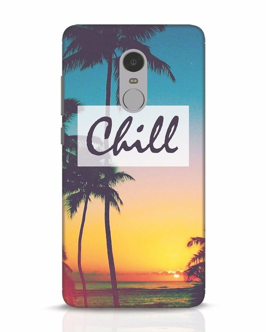 Shop Chill Beach Xiaomi Redmi Note 4 Mobile Cover-Front