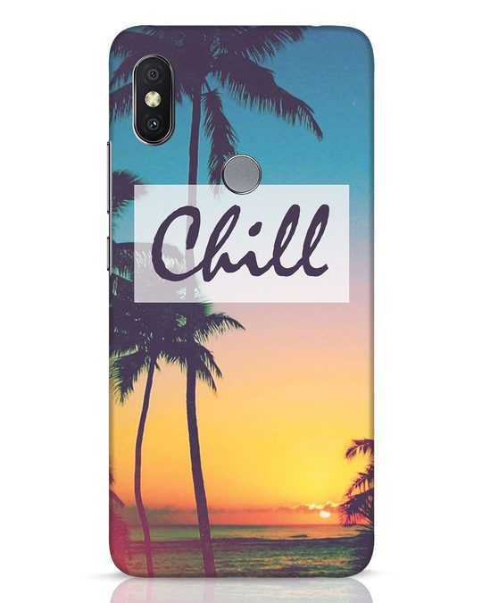 Shop Chill Beach Xiaomi Redmi Y2 Mobile Cover-Front