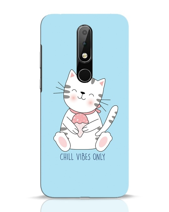 Shop Chill Vibes Nokia 6.1 Plus Mobile Cover-Front
