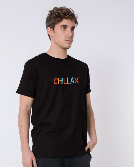 Shop Chillax Half Sleeve T-Shirt-Design