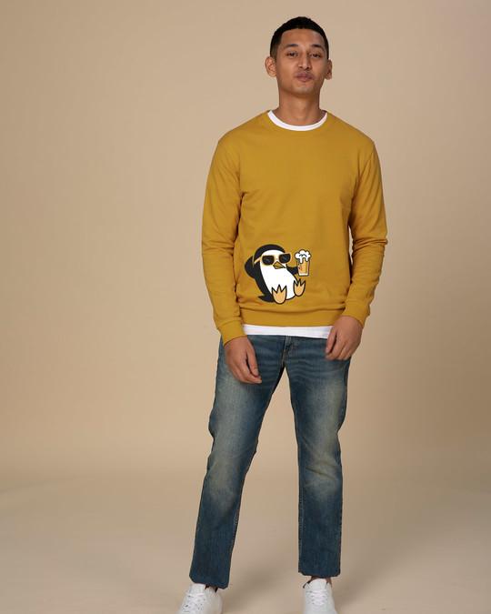 Shop Chillax Penguin Sweatshirt-Full