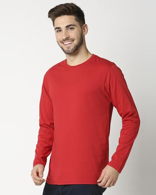 Shop Chilli Pepper Full Sleeve T-Shirt-Back