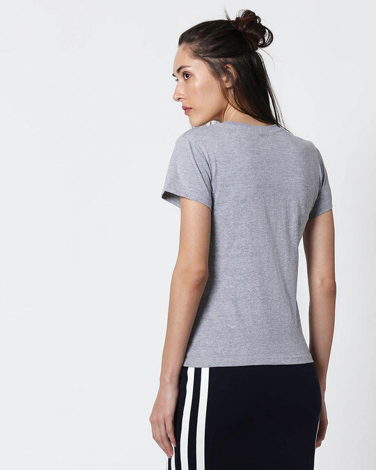 Shop Chilling Duck Half Sleeve T-Shirt (DL) Space Grey-Back