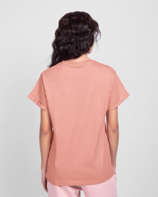 Shop Chilling Mickey Boyfriend T-Shirt (DL)-Back