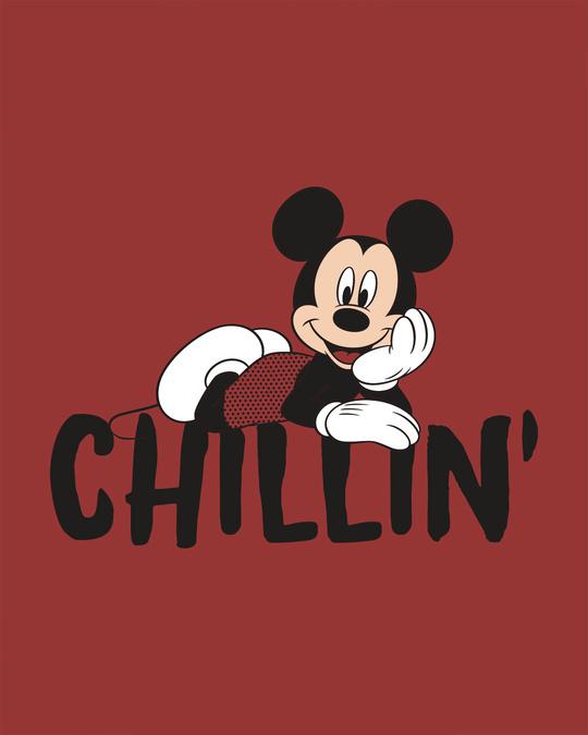 Shop Chilling Mickey Fleece Hoodies (DL)-Full