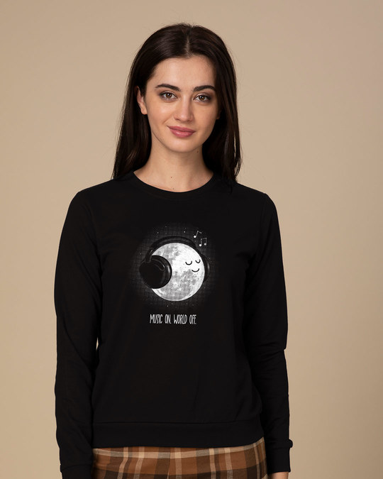 Shop Chilling Moon Sweatshirt-Front