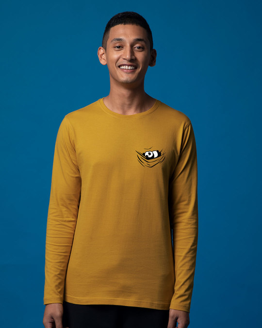 Shop Chilling Panda Full Sleeve T-Shirt-Back