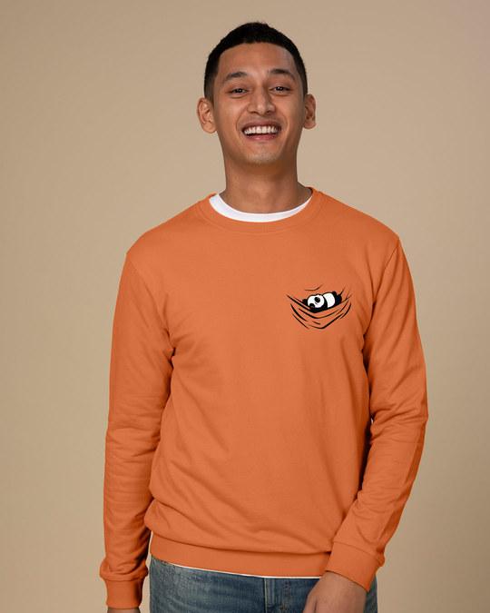 Shop Chilling Panda Sweatshirt-Back