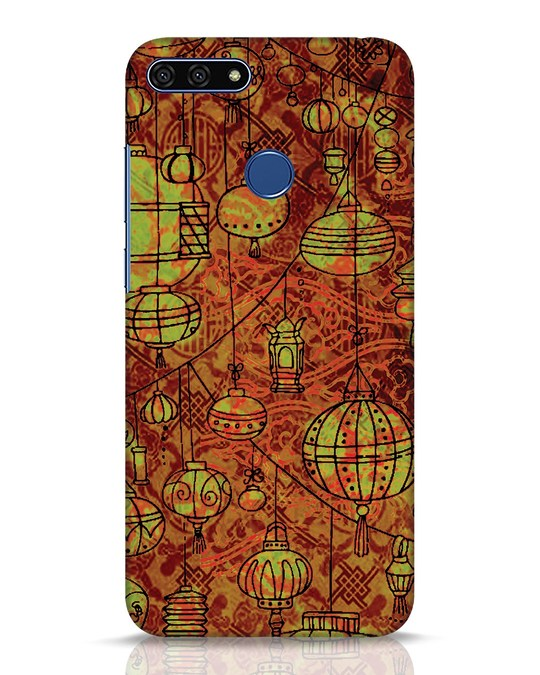 Shop Chinese Lanterns Huawei Honor 7A Mobile Cover-Front